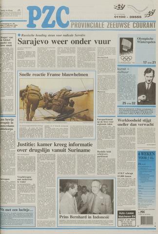 Provinciale Zeeuwse Courant 1994-02-11