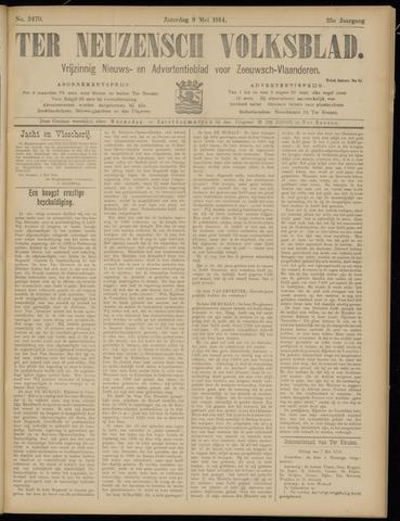 Ter Neuzensch Volksblad. Vrijzinnig nieuws- en advertentieblad voor Zeeuwsch- Vlaanderen / Zeeuwsch Nieuwsblad. Nieuws- en advertentieblad voor Zeeland 1914-05-09