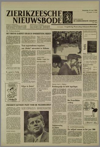 Zierikzeesche Nieuwsbode 1963-06-13