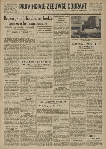 Provinciale Zeeuwse Courant 1949-09-30