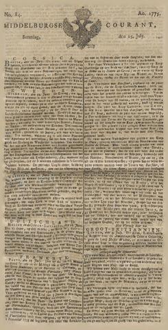 Middelburgsche Courant 1775-07-15