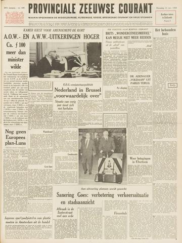 Provinciale Zeeuwse Courant 1964-11-11