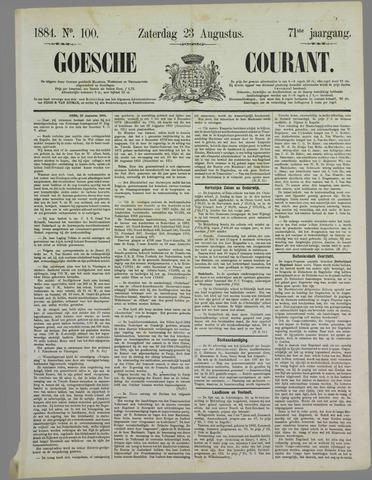 Goessche Courant 1884-08-23