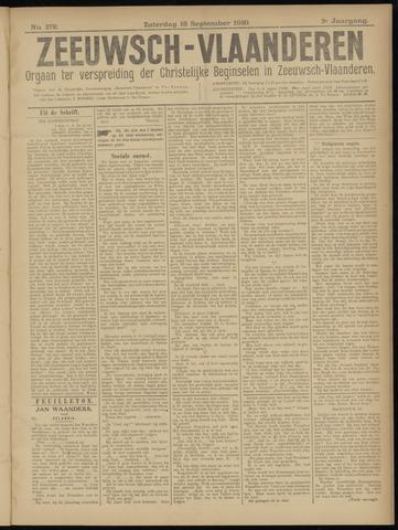 Luctor et Emergo. Antirevolutionair nieuws- en advertentieblad voor Zeeland / Zeeuwsch-Vlaanderen. Orgaan ter verspreiding van de christelijke beginselen in Zeeuwsch-Vlaanderen 1920-09-18
