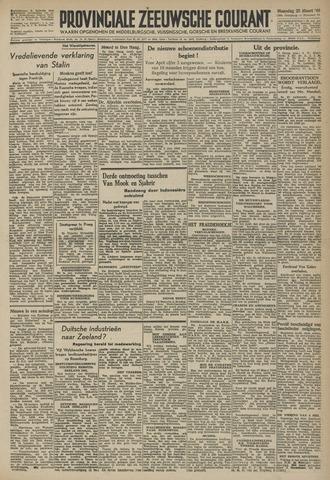 Provinciale Zeeuwse Courant 1946-03-25