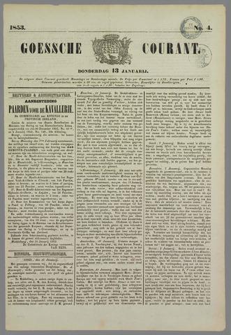 Goessche Courant 1853-01-13