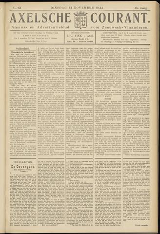 Axelsche Courant 1933-11-14