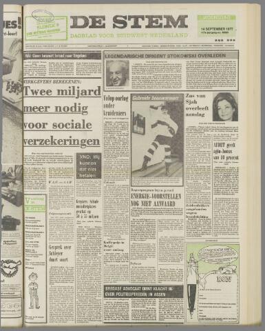 de Stem 1977-09-14