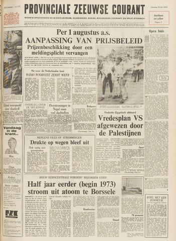 Provinciale Zeeuwse Courant 1970-07-25