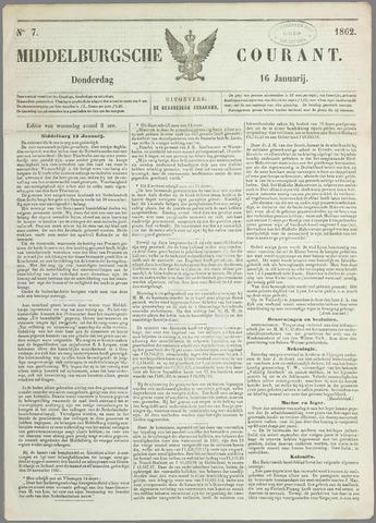 Middelburgsche Courant 1862-01-16