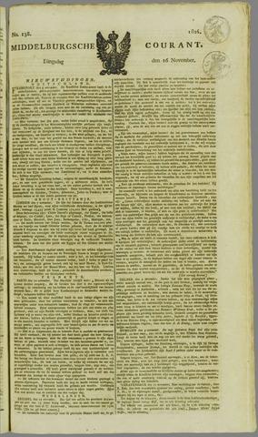 Middelburgsche Courant 1824-11-16