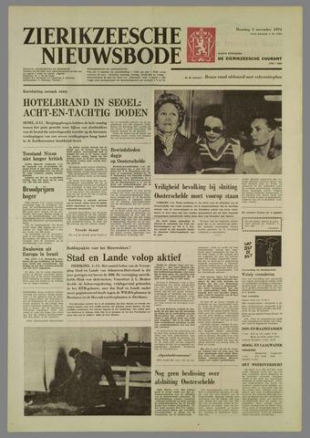 Zierikzeesche Nieuwsbode 1974-11-04