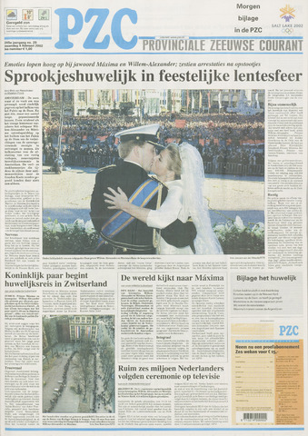 Provinciale Zeeuwse Courant 2002-02-04