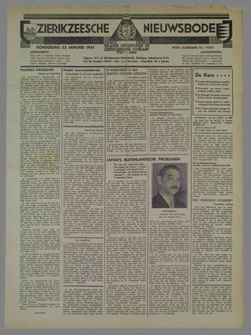 Zierikzeesche Nieuwsbode 1941-01-23