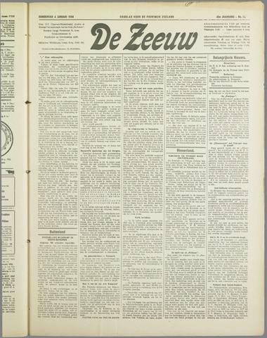 De Zeeuw. Christelijk-historisch nieuwsblad voor Zeeland 1934-01-04