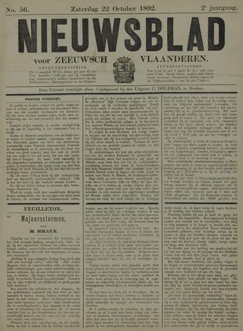 Nieuwsblad voor Zeeuwsch-Vlaanderen 1892-10-22