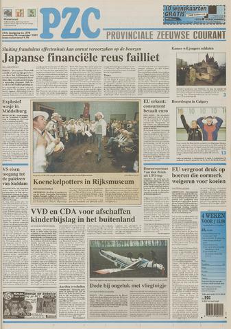 Provinciale Zeeuwse Courant 1997-11-24