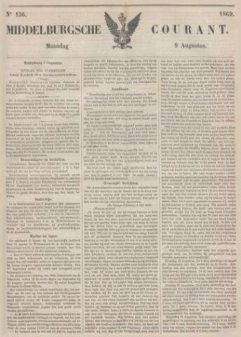 Middelburgsche Courant 1869-08-09