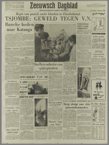 Zeeuwsch Dagblad 1960-08-04