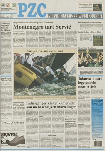 Provinciale Zeeuwse Courant 1999-08-06