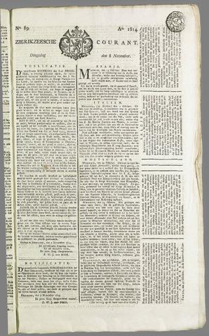 Zierikzeesche Courant 1814-11-08