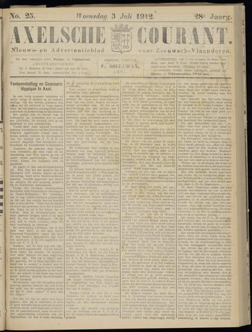 Axelsche Courant 1912-07-03