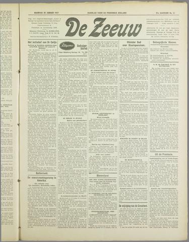 De Zeeuw. Christelijk-historisch nieuwsblad voor Zeeland 1937-01-25