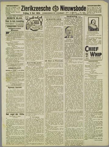 Zierikzeesche Nieuwsbode 1924-10-03