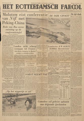 Watersnood documentatie 1953 - kranten 1954-01-26