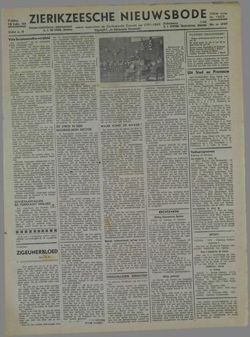 Zierikzeesche Nieuwsbode 1944-02-18
