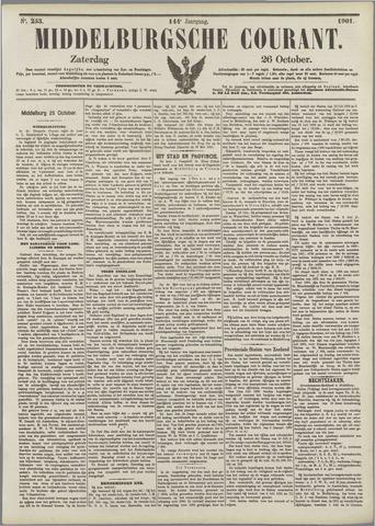 Middelburgsche Courant 1901-10-26