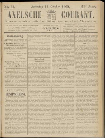 Axelsche Courant 1905-10-14