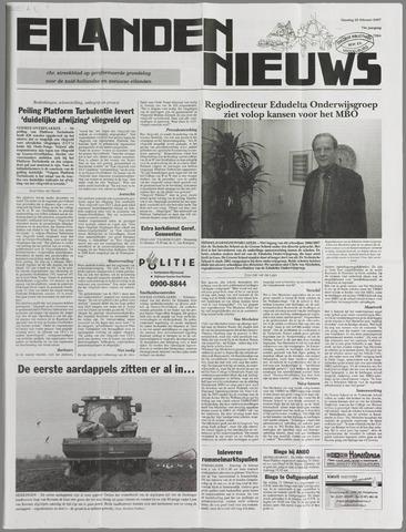 Eilanden-nieuws. Christelijk streekblad op gereformeerde grondslag 2007-02-20