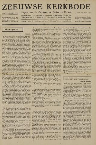 Zeeuwsche kerkbode, weekblad gewijd aan de belangen der gereformeerde kerken/ Zeeuwsch kerkblad 1948-08-20