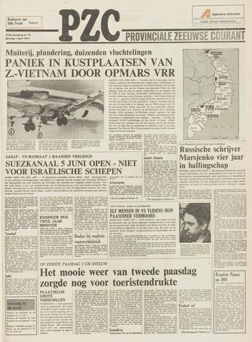 Provinciale Zeeuwse Courant 1975-04-01