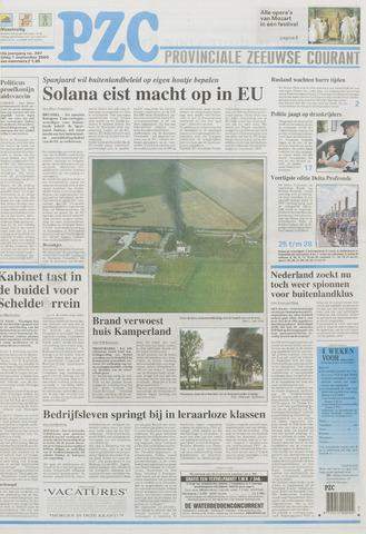 Provinciale Zeeuwse Courant 2000-09-01
