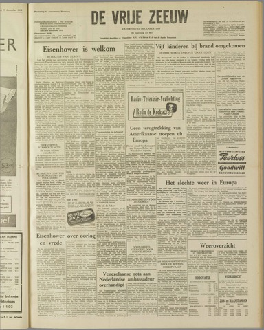 de Vrije Zeeuw 1959-12-12