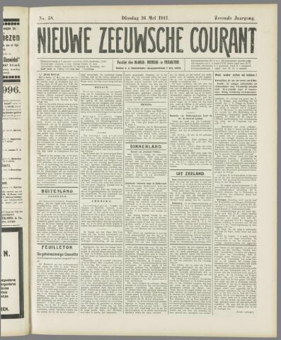Nieuwe Zeeuwsche Courant 1911-05-16