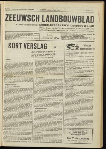 Zeeuwsch landbouwblad ... ZLM land- en tuinbouwblad 1951-04-28