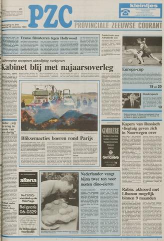 Provinciale Zeeuwse Courant 1993-09-16