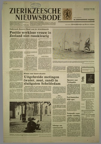 Zierikzeesche Nieuwsbode 1981-07-09