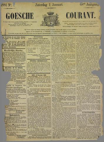 Goessche Courant 1881