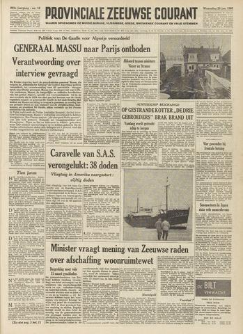 Provinciale Zeeuwse Courant 1960-01-20