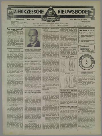 Zierikzeesche Nieuwsbode 1940-05-27