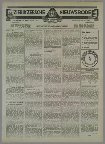 Zierikzeesche Nieuwsbode 1937-08-14
