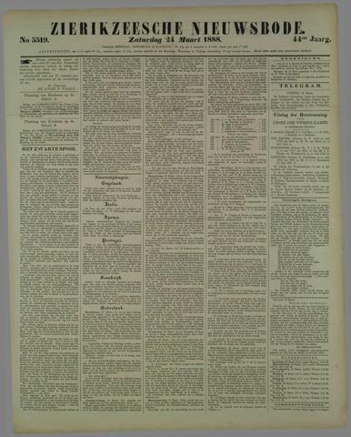 Zierikzeesche Nieuwsbode 1888-03-24
