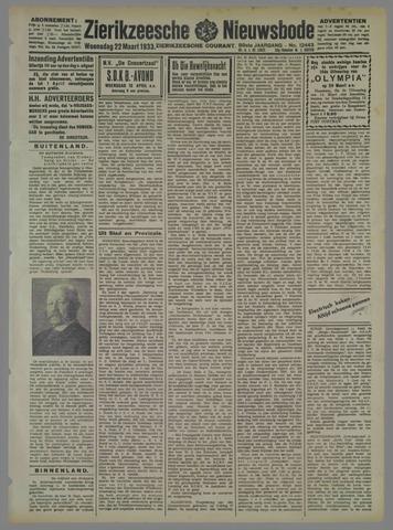 Zierikzeesche Nieuwsbode 1933-03-22