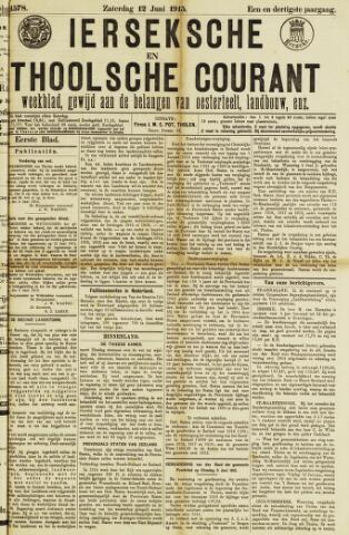 Ierseksche en Thoolsche Courant 1915-06-12