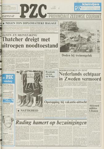 Provinciale Zeeuwse Courant 1984-07-16