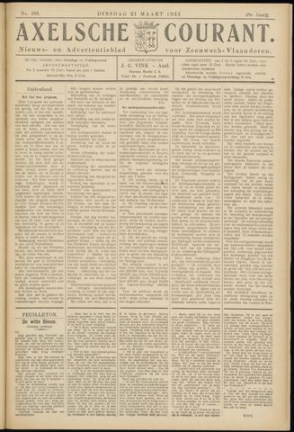 Axelsche Courant 1933-03-21